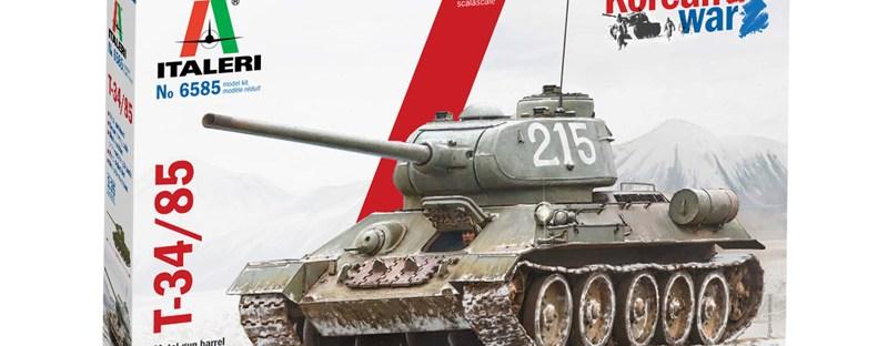 1/35 T-34/85 Korean War