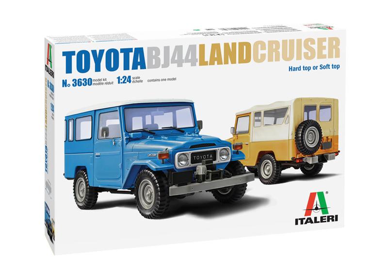 1/24 Toyota Land Cruiser BJ-44 Soft/Hard Top