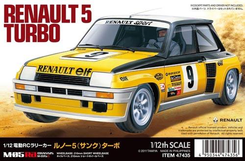 1/12 RC Renault 5 Turbo Telaio M-05Ra 2WD LIMITED EDITION