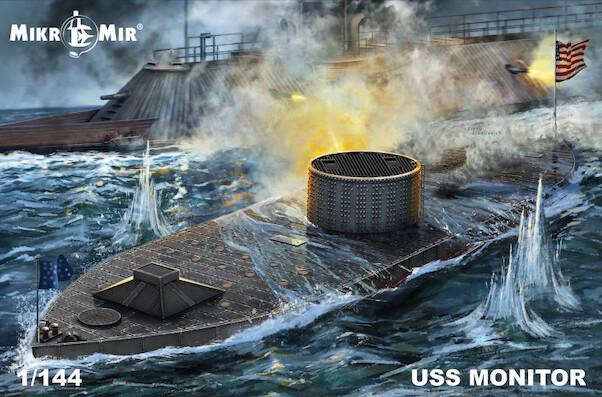 1/144 USS Monitor