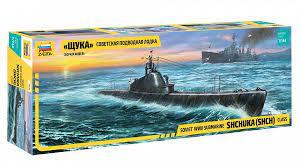 1/144 Soviet WWII Submarine Shchuka (SHCH) Class
