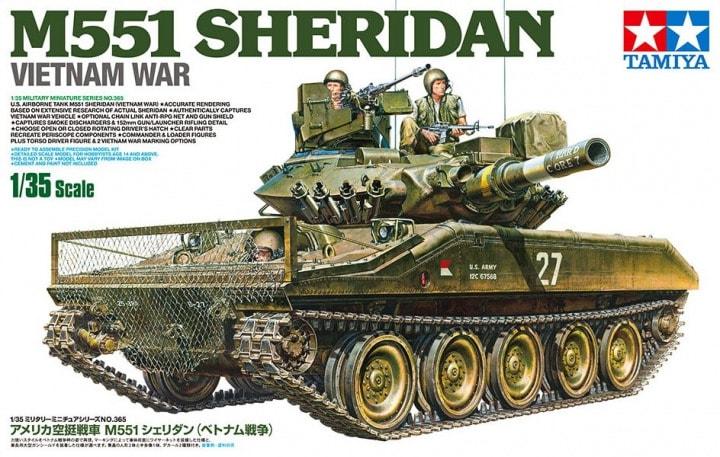 1/35 U.S. Airborne Tank M551 Sheridan Vietnam War