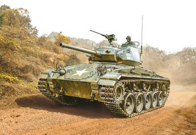 1/35 M24 Chaffee Korean War