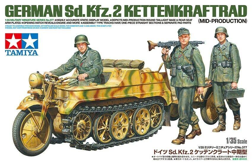 1/35 German Sd.Kfz.2 Kettenkraftrad (Mid-Production)