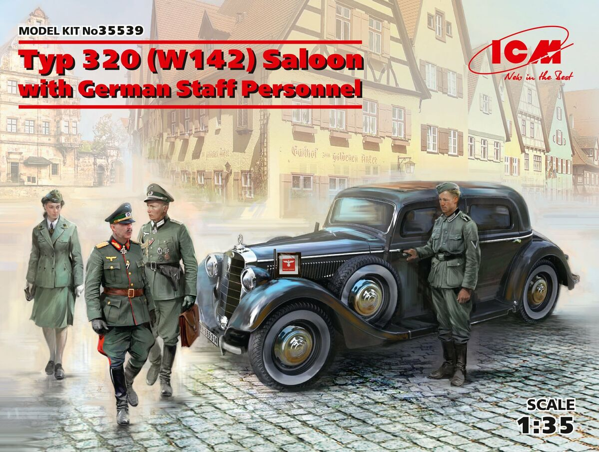1/35 Typ 320 (W142) Saloon with German Staff Personnel
