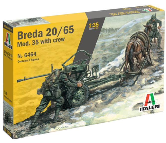 1/35 Breda 20/65 Mod. 35 with Crew