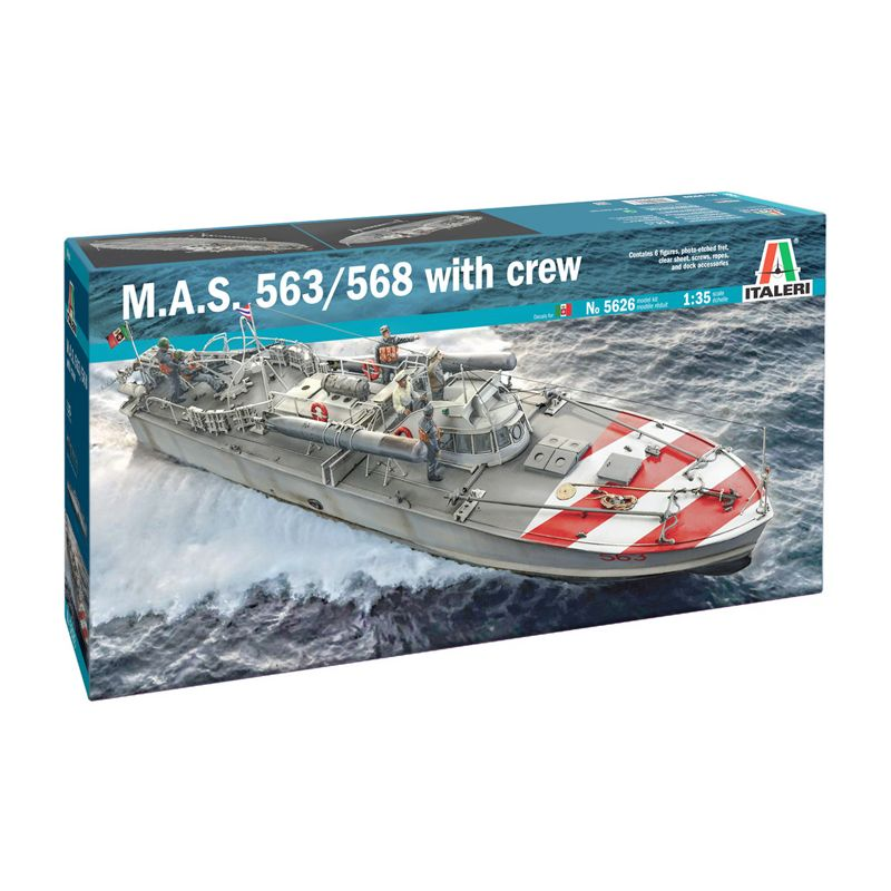 1/35 M.A.S. 563/568 with Crew