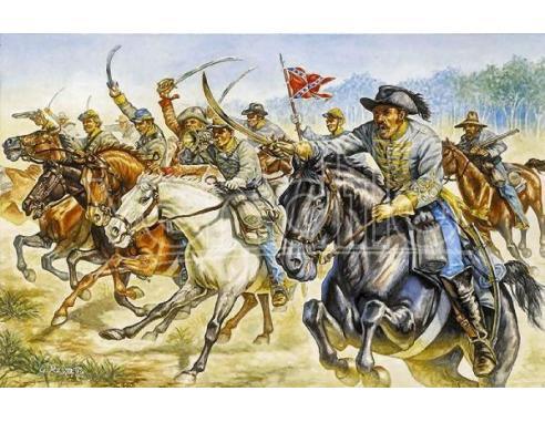 1/72 Confederate Cavalry