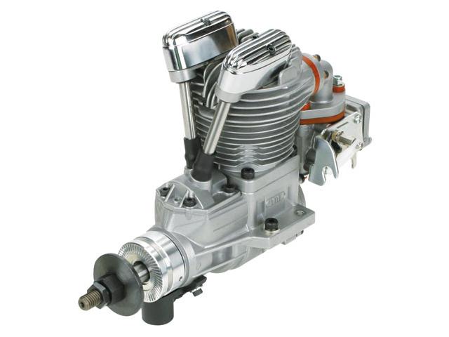 SAITO FG-30 Gasoline Engine (4Tempi Benzina) con centralina, castello motore in alluminio e silenziatore