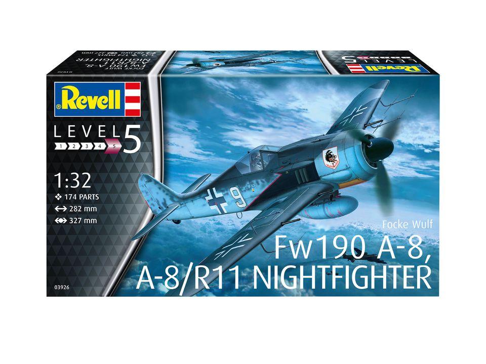 1/32 FOCKE WULF FW 190 A-8 NIGHTFIGHTER