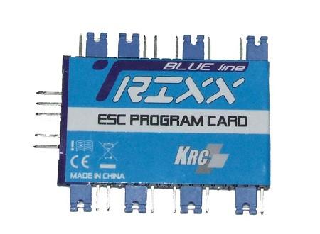 Trixx Programcard Blue Line