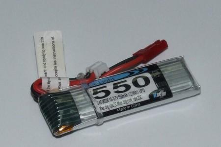 3,7V 550MAh Lark/E-Flite