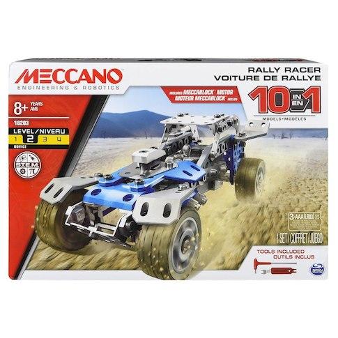 MECCANO SET 10 IN 1 VEICOLO DA RELLY