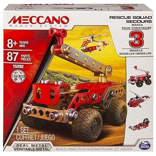 MECCANO 3 MODEL SET PRONTO INTERVENTO