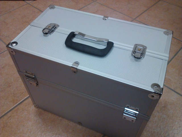 Box alluminio per contenere il tuo kit compressore aerografo