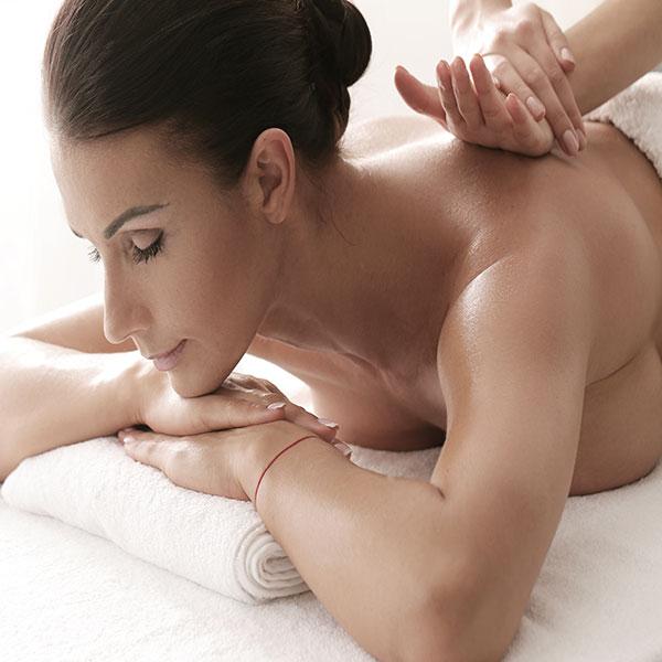 Massaggio relax schiena